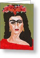 Just Frida Greeting Card