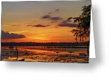 Just Like Fishin In Paradise Greeting Card