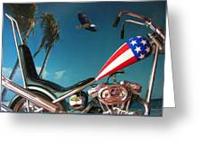 Just Ride Greeting Card