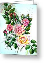 Just Roses Greeting Card