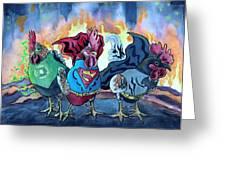 Justice Flock Greeting Card