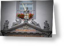 Justice Of Wittenberg Greeting Card
