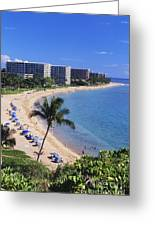 Kaanapali Beach Greeting Card