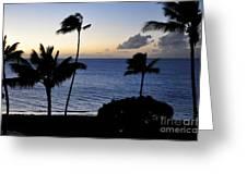 Ka'anapali Beach Maui Greeting Card