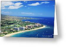 Kaanapali Greeting Card