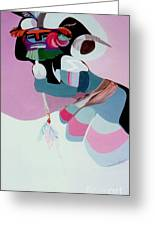 Kachina 6 Greeting Card
