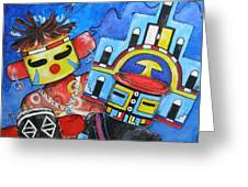 Kachina Knights Greeting Card