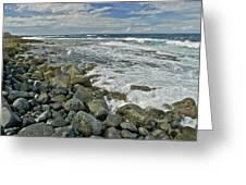 Kaena Point Shoreline Greeting Card