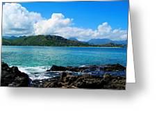 Kailua Bay Hawaii Greeting Card