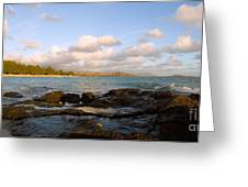 Kailua Bay Sunrise Greeting Card