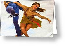 Kaitlyn Weaver And Andrew Poje Greeting Card