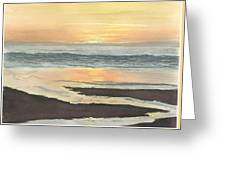 Kalaloch Sunset II Greeting Card