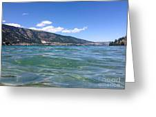 Lake Of Many Colours Greeting Card
