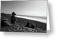 Kalapana Beach Greeting Card
