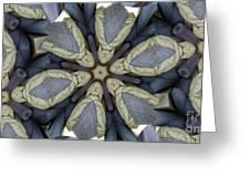 Kaleidoscollage Greeting Card