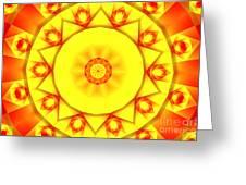 Kaleidoscope 100 Greeting Card