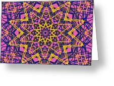 Kaleidoscope 1004 Greeting Card