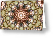 Kaleidoscope 108 Greeting Card