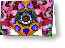 Kaleidoscope 120 Greeting Card