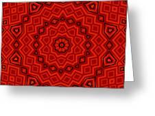 Kaleidoscope 3200 Greeting Card