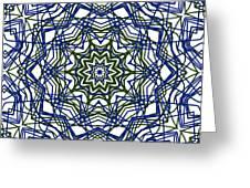 Kaleidoscope 706 Greeting Card