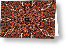 Kaleidoscope 85 Greeting Card