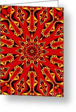 Kaleidoscope 89 Greeting Card