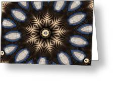 Kaleidoscope 91 Greeting Card