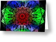 Kaleidoscope Greeting Card by Deleas Kilgore
