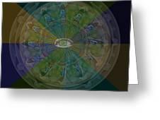 Kaleidoscope Eye Greeting Card