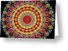 Kaleidoscope No.5 Greeting Card