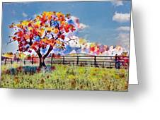 Kaleidoscope Of Colors Greeting Card