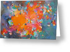 Kaleidoscope Of Colour Greeting Card