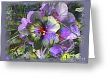 Kaleidoscope Pollen Greeting Card