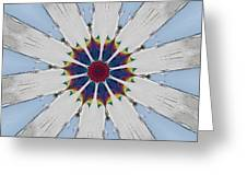 Kaleidoscopic 5 Greeting Card