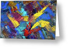 Kaleidoscopic Greeting Card
