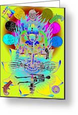 Kali Yuga Greeting Card by Eric Edelman