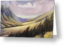 Kalihi Valley Art Greeting Card