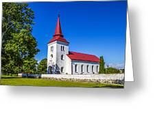 Kallstorps Kyrka Greeting Card