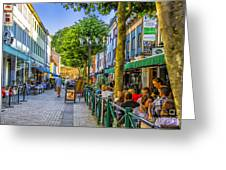 Kalmar Cafes Greeting Card
