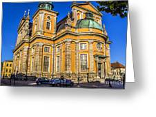 Kalmar Cathedral Exterior Greeting Card