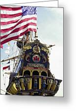 Kalmar Nyckel Tall Ship Greeting Card