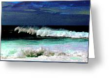 Kaluakoi Surf Greeting Card