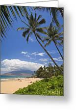 Kamaole Beach Greeting Card