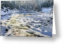 Kanasi Winter Greeting Card