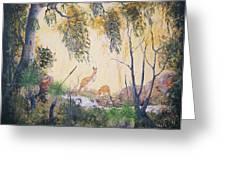 Kangaroo Kingdom Greeting Card