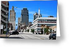 Kansas City Cross Roads Greeting Card