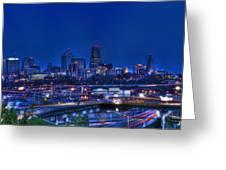 Kansas City Fantasy Greeting Card