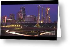 Kansas City Skyline 1998 Greeting Card