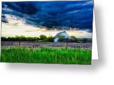Kansas County Greeting Card